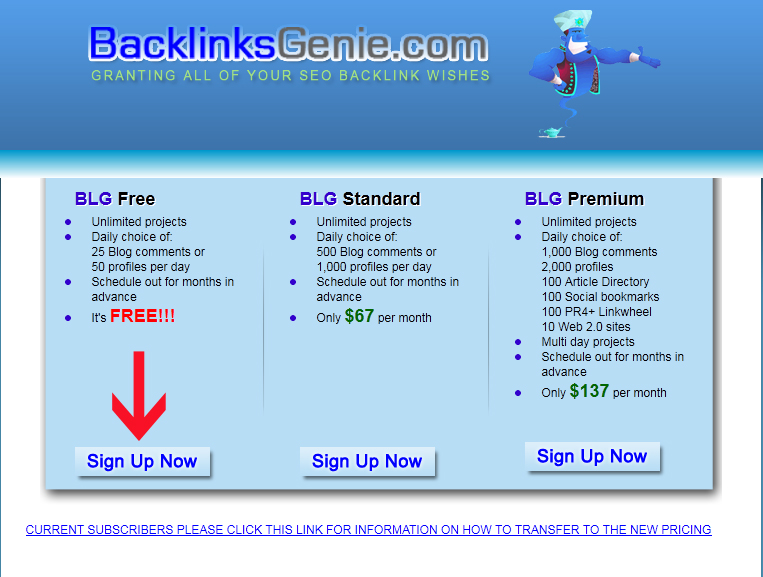 Pictured: Free Backlinks Resource #2